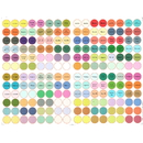 Muka 576 PCS 3-Pack  Essential Oil Bottle Cap Labels for Young Living Oil