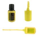 6 Pack Aspire Oil Bottle Silicone Roller Bottle Holder Sleeve Essential Oil Bottle Protective Cover Case Hang Rope