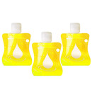 Muka 1.7oz/50ml Portable Squeezable Containers Empty Hand Soap bottles for Liquids
