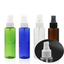 Muka 100ml/3.33oz Cylinder Reusable Spray Bottles Colorful Plastic Spray Bottles with Fine Mist Sprayer