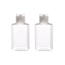 Muka 1.7oz/50ML Plastic Empty Bottles with Flip Cap Refillable Cosmetic Bottles