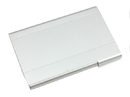 Brushed Aluminum Card Holder, 3-5/8