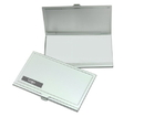 Super Light Aluminum Business Card Holder,3-3/4