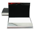 Premium Arched Stainless Iron Business Card Holder, 3-3/4
