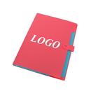 Custom 5 Pockets Portable Expanding File Folder, A4 Size, 9 Colors