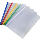 Aspire A4 Sizes Clear Plastic Resume Binder Portfolio Binder Report Covers with Sliding Bar