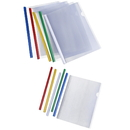 Professional Clear Plastic Resume Binder Portfolio Binder Report Covers with Sliding Bar, A4 Sizes