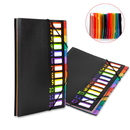 Officeship 12 Pockets Expanding Project Sorter Portable Rainbow File Folders Letter Organizer, Letter Size