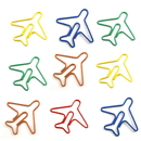 (Price/10 Paper Clips) Custom Airplane Paper Clips, 1 1/4