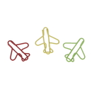 (Price/100 Paper Clips) Airplane Paper Clips, 1 1/4