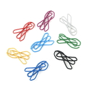 (Price/100 Paper Clips) Awareness Ribbon Shaped Paper Clips, 1 1/4