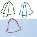 (Price/100 Paper Clips) Bell Shaped Paper Clips, 1 1/4
