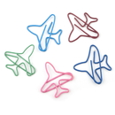 (Price/100 Paper Clips) Airplane Shaped Paper Clips, 1 2/5