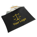 Custom Officeship Legal Sized Zipper Portfolio