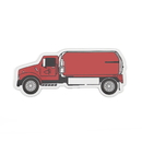 Blank Red Truck Magnet,3.75