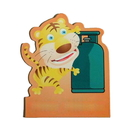 Blank Tiger with Gas Jar Flexible Magnet, 4
