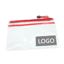 Promotional Document Sleeve with Zipper, 9-1/2