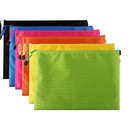 Officeship Zipper Waterproof Document Holder, Zipper File Bags, Mesh Zipper Bags Pencil Pouch Document Organizer