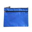 Blank Double Zip Lock 2-Pocket Wallet-Style Document Folder, 10