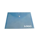 Custom PVC Portfolio with Snap Button, 13 1/2