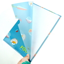 Custom Full Color UV Printed PP File Folder, 12 1/4