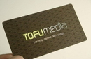 Custom Business Cards with Foil Stamping on Both Sides, 4-Color Printing, 100 Per Box