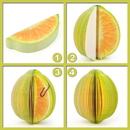 Blank Lemon Shape Memo Pads, Promotional Lemon Notes Pads