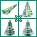 Custom Christmas Tree Shape Memo Pads, Promotional Christmas Tree Notes Pads