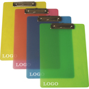 Custom Translucent Poly Frosted Clipboard, 13