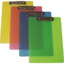 Blank Translucent Poly Frosted Clipboard, 13