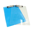 Custom Transparent Plastic Clipboard with Flat Clip, 13
