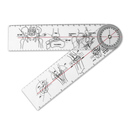 Custom Orthopedics Goniometer, 8 1/2