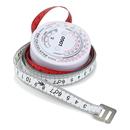 Custom Round BMI Calculator with 60 Inch Tape Measure, 2 3/4