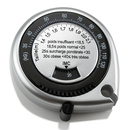 Blank Tape Measure with BMI Calculator, 2 1/4