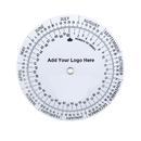 Custom 2-Wheel White Plastic Date Finder Wheel Calculator (4.25