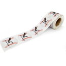 Custom Full Color Sticker by the Roll, 250pcs per Roll, 2