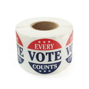 Officeship Every Vote Counts Stickers, 2