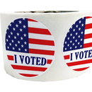 Custom VOTE Theme Stickers, 2