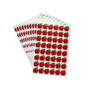 (Price/1 pack) Apples Shape Stickers, 360 pcs/pack