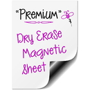 Removable Peel and Stick Dry Erase Message Board Decal, 2ft x 6.5ft