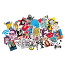Random Patterns Car Stickers/Bumper Stickers, 100pcs per Pack