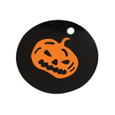 100 PCS Paper Pumpkin Gift Tags for Halloween, Party Favors, 1 3/4