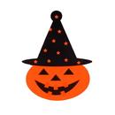 Halloween Stickers, Pumpkin Stickers, 2