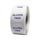Gluten Free Round Label 1.5