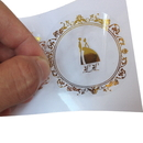 1000 PCS Custom Clear Foil Stickers, 2