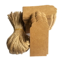 100 PCS Aspire Kraft Paper Gift Tags Bonbonniere Favor Gift Tags
