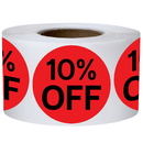 Officeship 500 PCS 0.75 Inch Percent Off Stickers