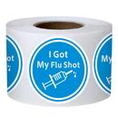 Officeship 200 PCS 1.5 Inch I Got My Flu Shot Stickers