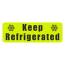 Officeship 500 PCS 1 x 1.5 Inch Keep Refrigerated Stickers