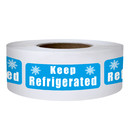 Officeship 500 PCS 0.5 x 1.5 Inch Keep Refrigerated Stickers